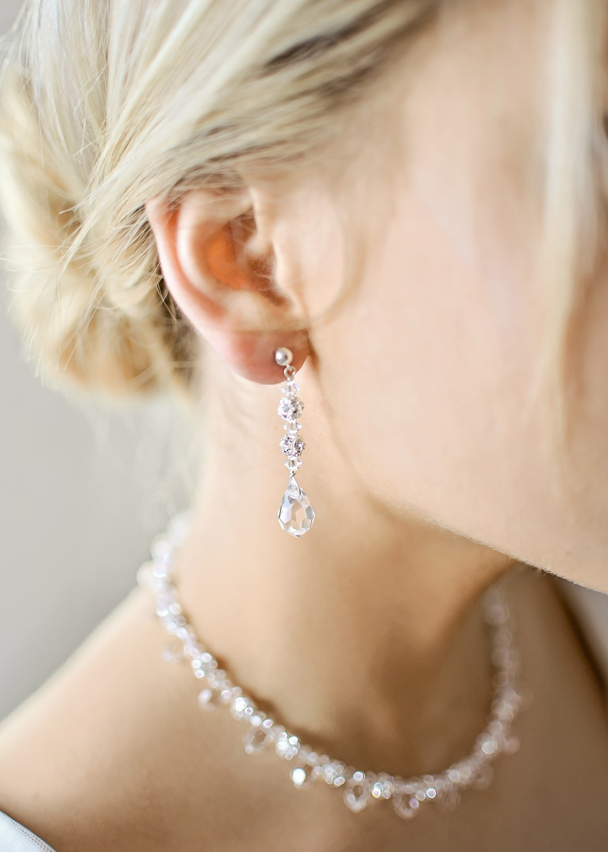 Bridal earrings Glamour