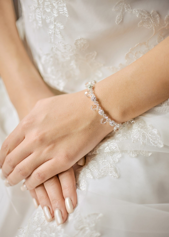 Wedding bracelet Gouttes