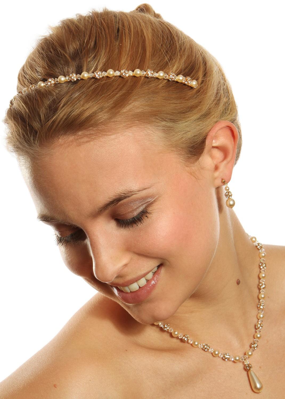 Bridal headband Margaux