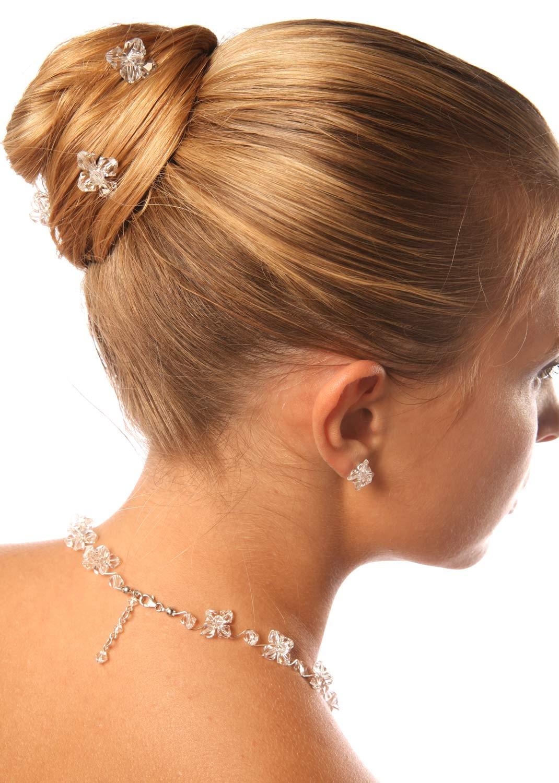 Bridal hair pins Cristal