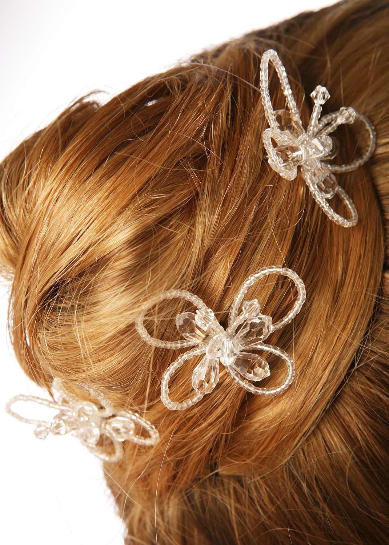 Bridal Hair Pins Papillon Princesse D Un Jour