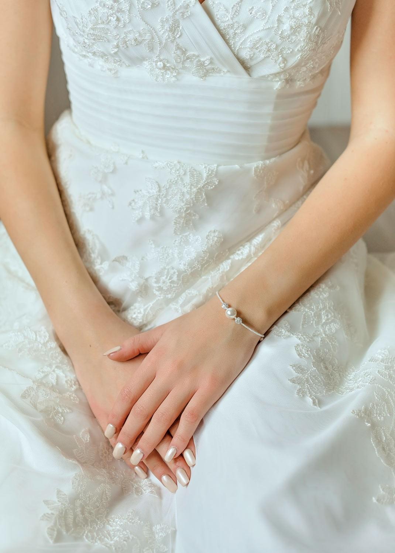 Bridal bracelet Bliss