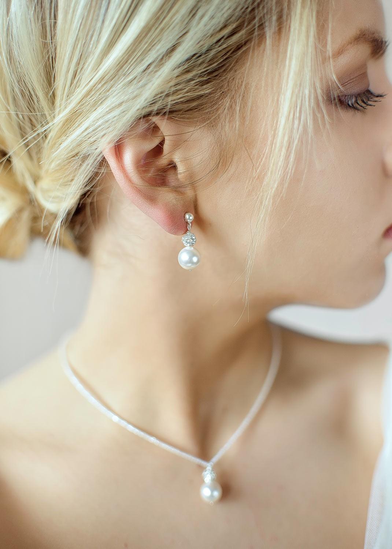 Bridal earrings Bliss