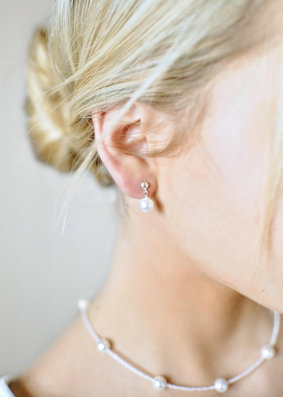Elena bridal earrings
