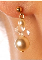 Wedding earrings Estella cream