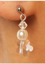 Wedding earrings Marquise