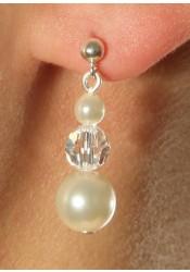 Wedding earrings Princesse