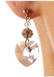 Bridal earrings Coeurs