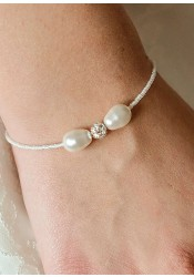 Anna ivory wedding bracelet