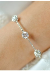 Carolina wedding bracelet