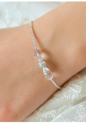 Sparkle wedding bracelet