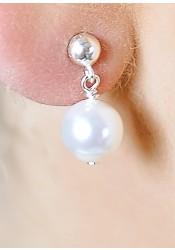 Elena wedding earrings