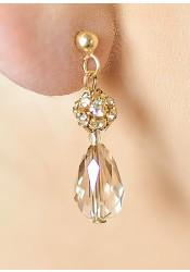 Jessica honey wedding necklace