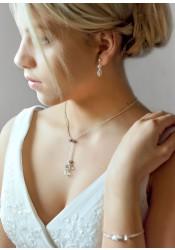 Bridal necklace Lena