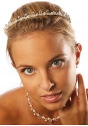 Gouttes bridal tiara