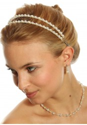 Bridal head-band Impératrice