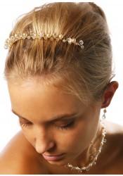 Bridal comb Gouttes perles