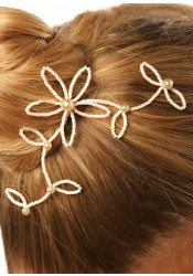 Bridal hair slide Eve