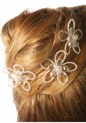Bridal hair pins Romantique