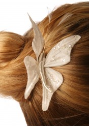 Butterfly bridal hair pin