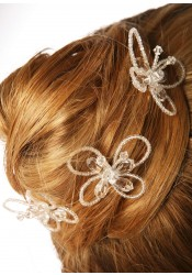 Wedding hair pins Papillon
