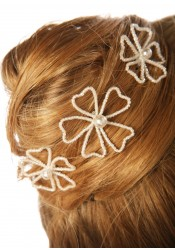 Bridal hair pins Angélique