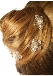 Wedding hair pins Fleur d'été