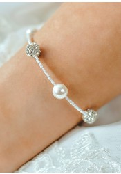 Lucie wedding bracelet
