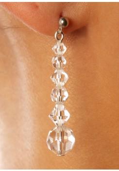 Wedding earrings Lune