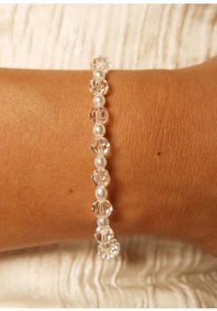 Bridal bracelet Douceur