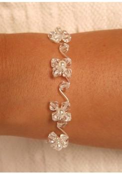 Bridal bracelet Elégance