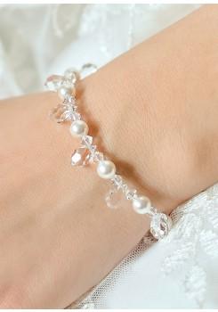 Wedding bracelet Gouttes perles