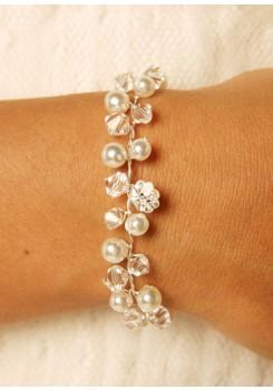 Bridal bracelet Idylle