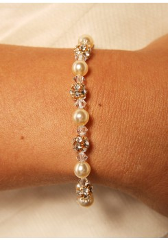 Bridal bracelet Margaux