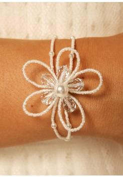 Bridal bracelet Romantique