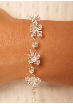 Bridal bracelet Cristal