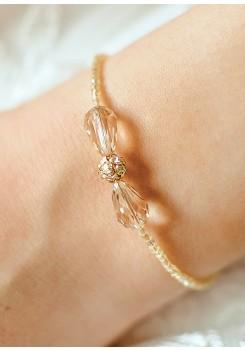 Jessica honey wedding bracelet