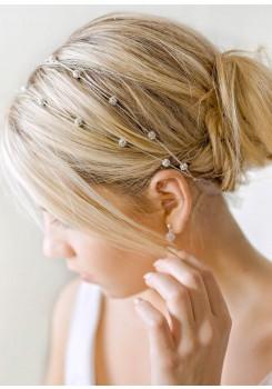 Carolina bridal headband