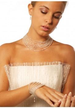 Bridal necklace Cléopâtre