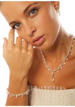 Bridal necklace Glamour