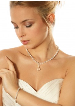 Bridal necklace Innocence Gouttes
