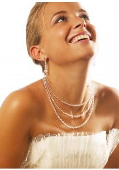 Bridal necklace Lune