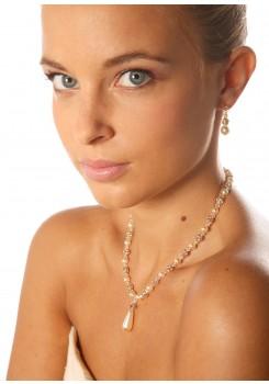 Bridal necklace Margaux