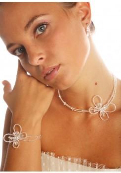 Bridal necklace Papillon