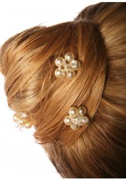 Wedding hair pins Estella cream