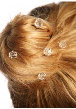 Crystal bridal hair pins Lune