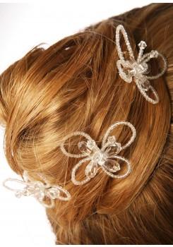 Wedding hair pins Papillon