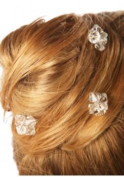Wedding hair pins Cristal