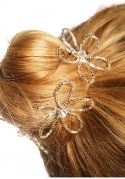 Wedding hair pins Fleur de cristal