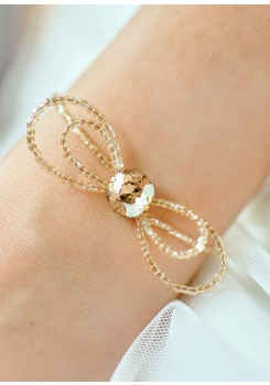Alice honey wedding bracelet
